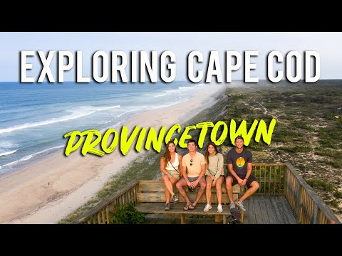 PROVINCETOWN MASSACHUSETTS - CAPE COD VLOG [EP 2: New England Road Trip]