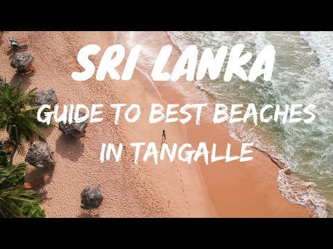 SOUTH SRI LANKA | MOST AMAZING BEACHES 🏖️ | TANGALLE