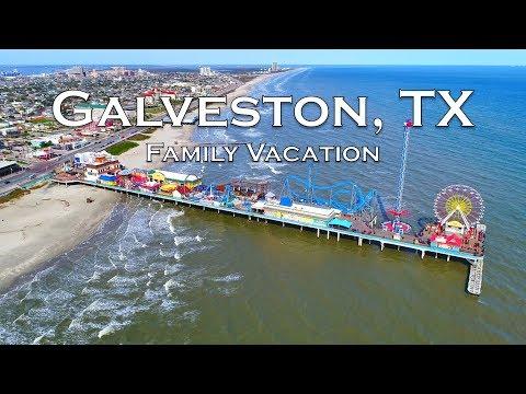 GALVESTON ISLAND, TEXAS   Family Vacation Travel Video   Sony A6500