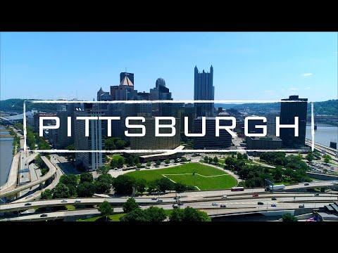 Pittsburgh, Pennsylvania   4K Drone Footage