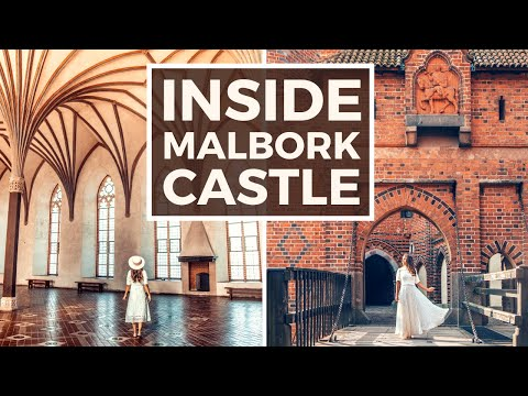 INSIDE MALBORK CASTLE IN POLAND | THE LARGEST CASTLE IN THE WORLD