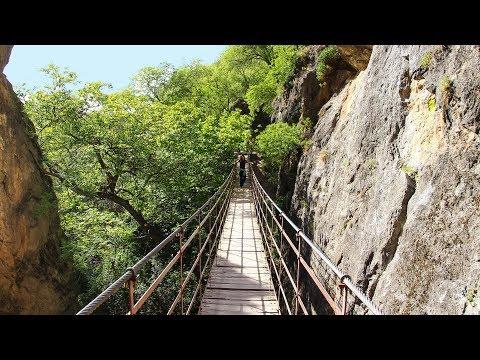 Los Cahorros Walking Trail Sierra Nevada, Monachil, Granada, Spain