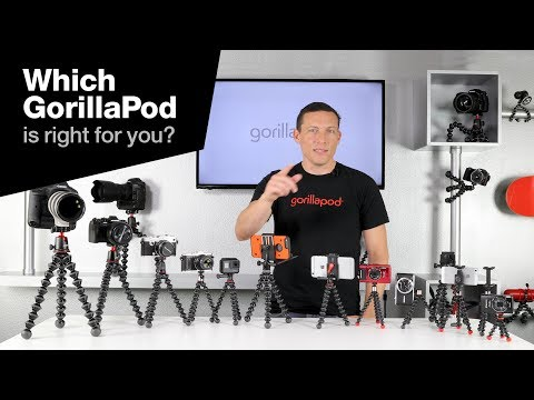 Which GorillaPod is right for you?