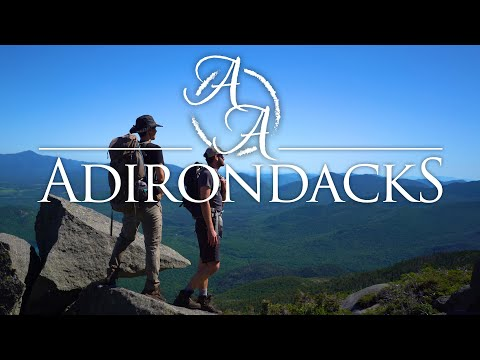 The Adirondacks in 4K | Backpacking in the High Peaks of New York