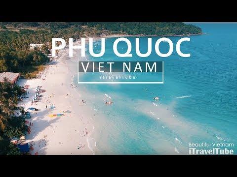 Sao Beach (Bãi Sao or Star Beach) - The Best Beach in Phu Quoc Island and Vietnam [DJI Spark Drone]