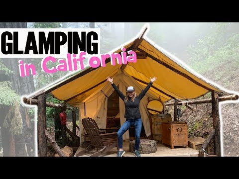 We Went GLAMPING in California!