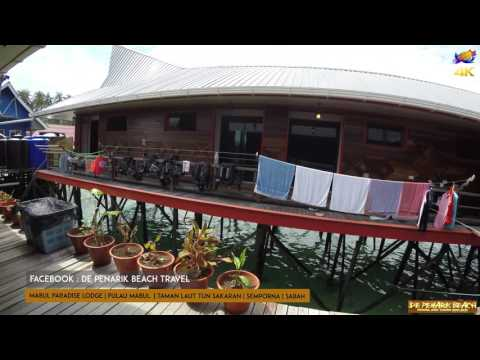Mabul Paradise Lodge | Pulau Mabul | Sabah Go Pro 4K