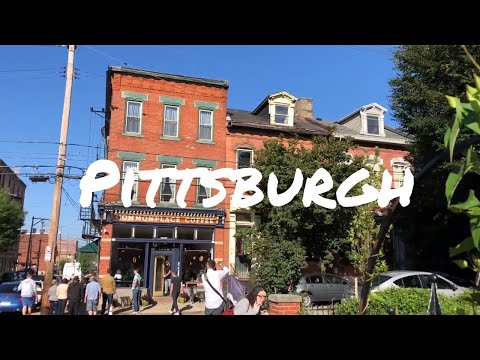 WELCOME to PITTSBURGH - CITY TOUR, CRAFT BREWERIES, WARHOL MUSEUM 🍻 - vlog 2018