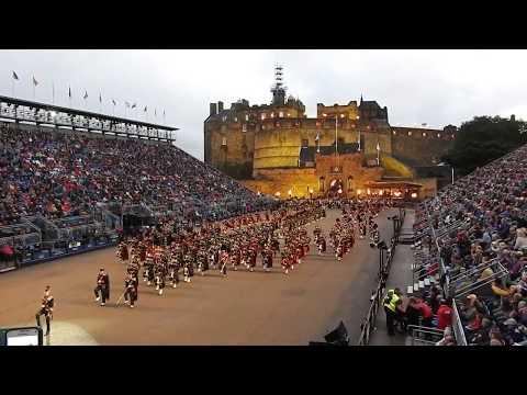 Opening of the Edinburgh MilitaryTattoo 2017