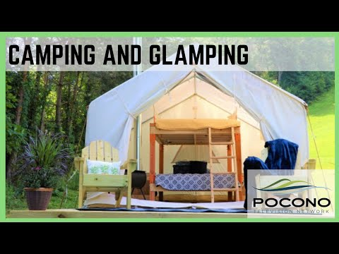Camping and Glamping in the Pocono Mountains
