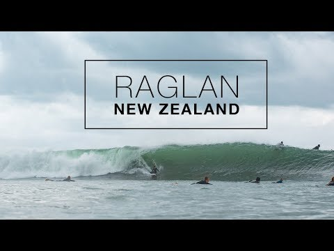 2ft to 6ft in 2 hours at Raglan, New Zealand - Surf Photography