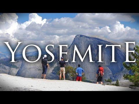 Yosemite National Park in 4K   Backpacking, Hiking, and Camping at North Dome/Upper Falls