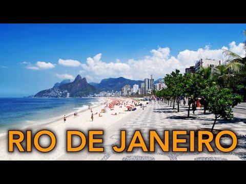 Rio De Janeiro Brazil Tour 4K