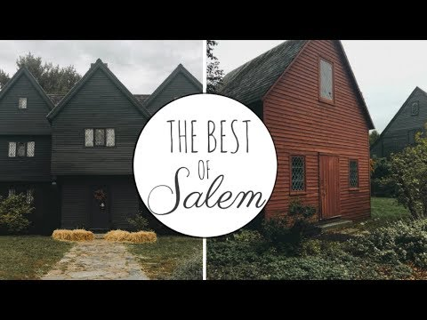 BEST PLACES IN SALEM | The Witch House, Hocus Pocus Locations, Etc.