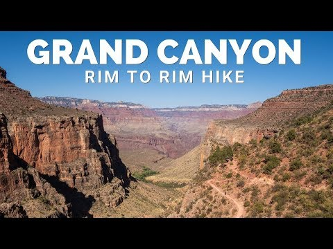 Grand Canyon Rim to Rim Hike in One Day