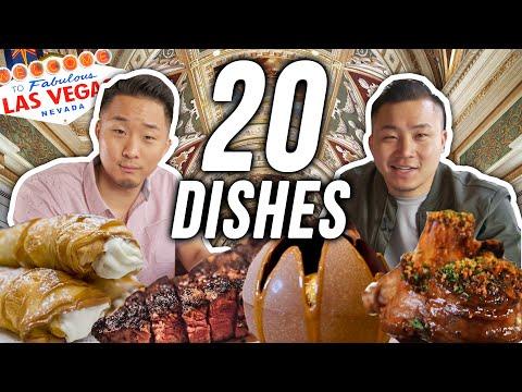 THE BEST Restaurants IN LAS VEGAS - 20 Bites Pt. 2
