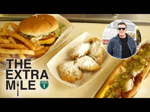 What to Eat in Myrtle Beach, SC | The Extra Mile with Tyler Florence | Food Network