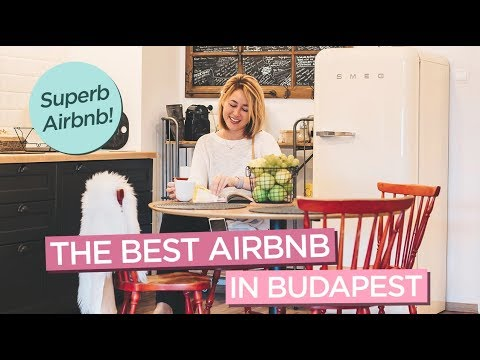 Apartment Tour of the Absolute Best Airbnb Stay in Budapest, Hungary