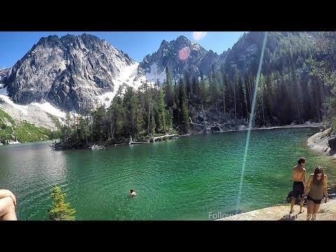 The Beautiful Colchuck Lake Hike, Leavenworth, Washington, PNW, USA