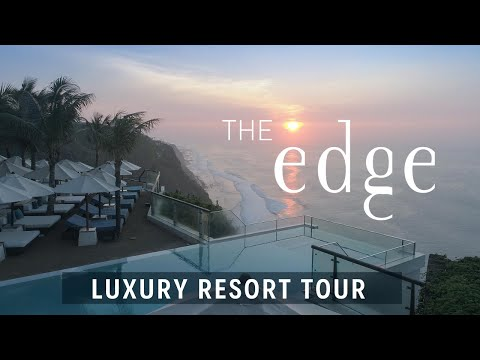 FULL TOUR of The Edge, Bali - A 5 star luxury resort with the most amazing pool in the world!