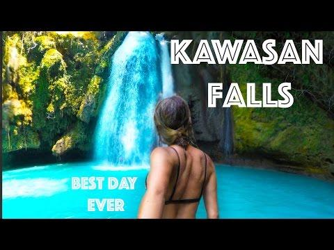 Kawasan Falls, Cebu - CLIFF JUMPING & CANYONEERING - BEST DAY EVER!