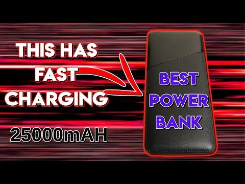 Best Power Bank 25000mAh Todamay Review