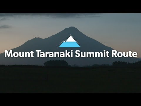 Mount Taranaki Summit Route: Alpine Tramping (Hiking) Series   New Zealand