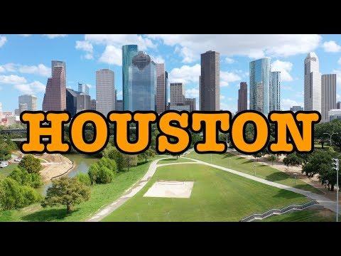 Visit Houston Texas   Virtual Tour 4K