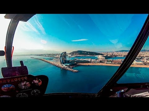 Barcelona Helicopter Ride