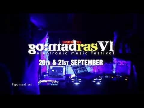 GO:MADras VI Electronic Music Festival 20/21 Sept,2014 - Official Promo Video