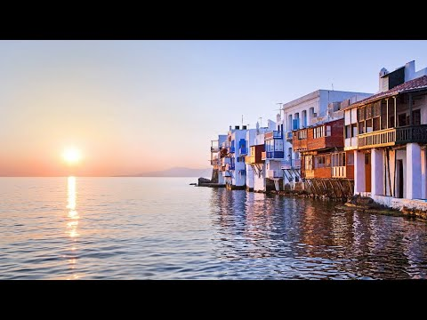 Mykonos island (Greece): impressions (+ SPECTACULAR SUNSET)