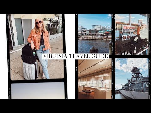 Travel With Me To Norfolk/Virginia Beach, Virginia | travel vlog