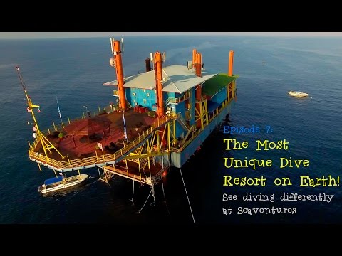Seaventures Dive Rig: The Most Unique Diving Resort on Earth | Borneo from Below (S01E07)