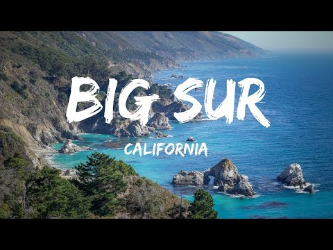 Big Sur California: Virtual Tour in 3 Minutes
