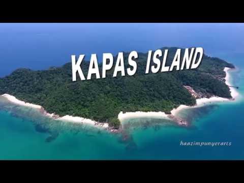 Scenery of Kapas and Gem Island, Marang, Terengganu, Malaysia (October 2016)