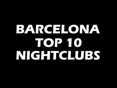 Best PARTY in BARCELONA - TOP10 Nightclubs 2021