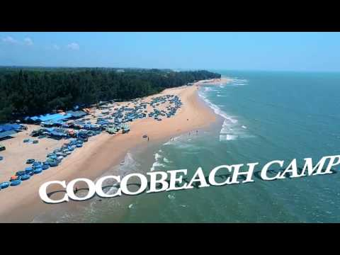 [Flycam Phan Thiet] Cocobeach Camp Lagi, Hàm Tân, Bình Thuận
