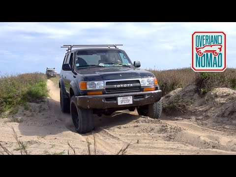 Offroading & Camping South Padre Island East Cut