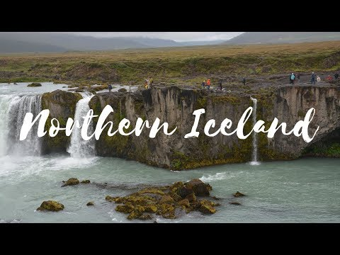 TOUR of NORTHERN ICELAND! (AKUREYRI, GODAFOSS, MYVATAN, and DETTIFOSS) 🇮🇸2018 vlog