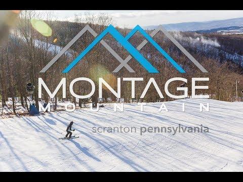 Skiing, Riding, & Snow Tubing at Montage Mountain