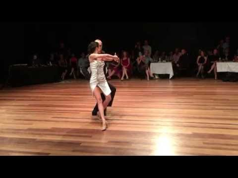 Diana Cruz y Nick Jones - Byron Bay Tango Festival 2016