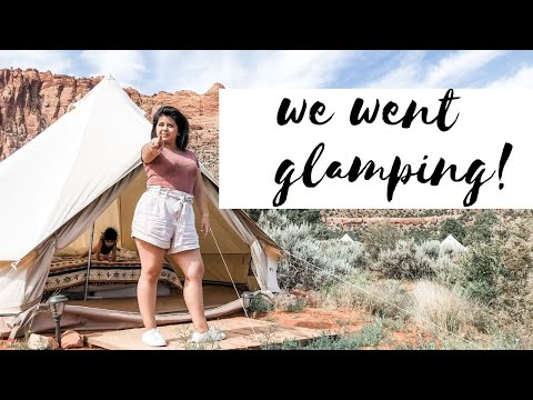 Family Glamping Vlog | Zion Luxury Camping