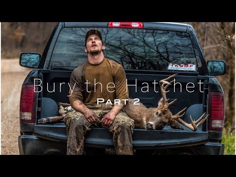 BIG BUCK DOWN X2 on PUBLIC LAND in Wisconsin | Bury the Hatchet (Part 2)