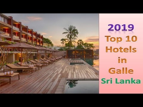 Top 10 Recommended Hotels in Galle # Sri Lanka