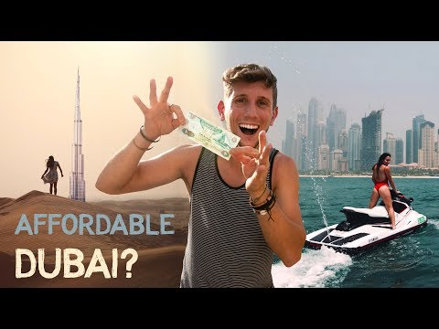 How to TRAVEL DUBAI on a BUDGET - Enjoy Luxury CHEAP