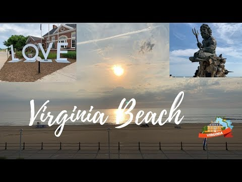 Virginia Beach, Boardwalk attractions, Virginia, USA