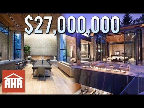 INSIDE OF A $27,000,000 ASPEN, COLORADO MANSION