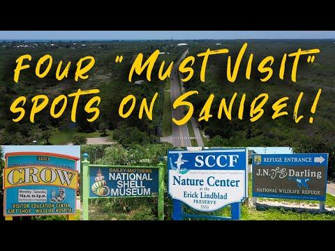 Sanibel Island, Florida - Four TOP Stops on the Sanibel Captiva Road