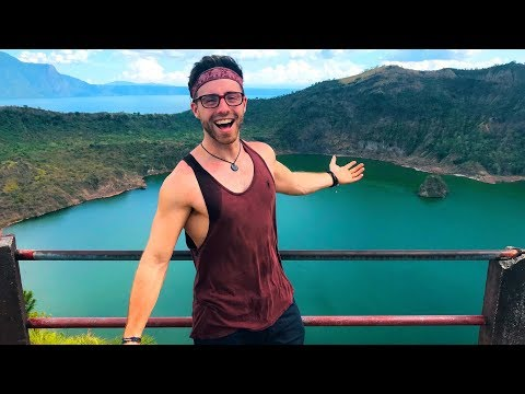 TAAL VOLCANO || DAY TRIP FROM MANILA 🇵🇭 TRAVEL PHILIPPINES