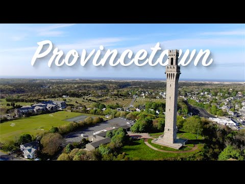 Provincetown, the Tip of Cape Cod Island | 4K UHD